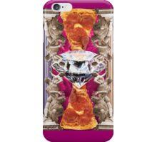 Rape of the Sabine Pizza iPhone Case/Skin