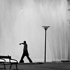 Fountain Stroll by Oliver  Andrews