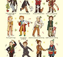 The Twelve Doctors of Christmas by AliciaMB