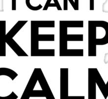 I cant keep calm Im a LALA Sticker
