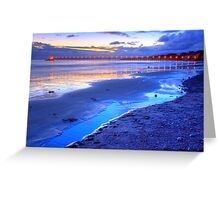 Bacara (Haskell's ) Beach, Santa Barbara Greeting Card