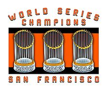 World Series Champions  Photographic Print