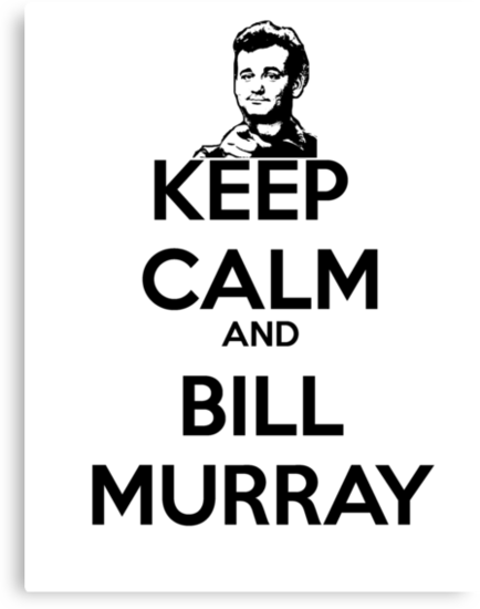 Keep Calm and Bill Murray by Jasenstation