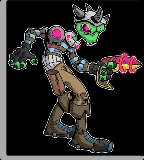 bounty hunter: morgin... by kangarookid