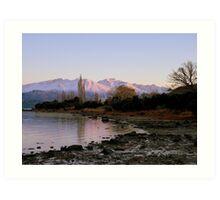 Winter Paradise... - Sunrise Wanaka - NZ Art Print