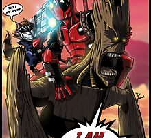 Deadpool and The Guardians of the Galaxy by marcosmp