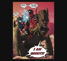 Deadpool and The Guardians of the Galaxy Kids Clothes