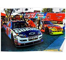 Dale Earnhardt Jr. and Jeff Gordon Poster