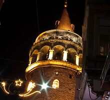 Istanbul by Night by Michael Anderson