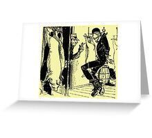 Meat Brawl Greeting Card