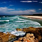 Main Beach - North Stradbroke Island by Alecia Scott