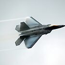 F22 Raptor.  World Space Expo 2007. by Mark Weaver
