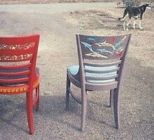 More painted chair examples by Roger  Davis