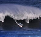 Buttons Kaluhiokalani at Waimea Bay 2011 by Alex Preiss