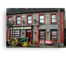 AN IRISH PUB  Canvas Print