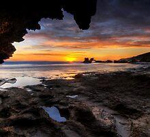 Craggy Coast Sunset by Robert Mullner