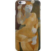 Young Woman in an Armchair iPhone Case/Skin