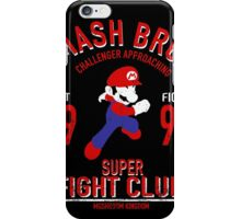 Mushroom Kingdome Fighter iPhone Case/Skin