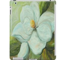 Spring's First Magnolia Blossom 1 iPad Case/Skin