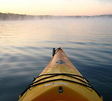 Sunrise kayak by originalprint
