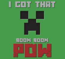 Minecraft: Boom, Boom, Pow by brokenxnote