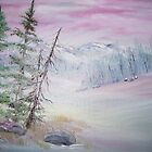 Winter in Pink by Cynthia Kondrick