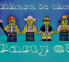 Where is the party@? by Tim Constable