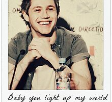 Niall lights up my world like nobody else by jordanparrish