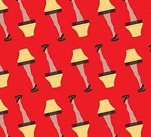 Lamp Leg Christmas Story Movie by HolidaySwaggC