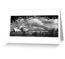 Two Icons - Sydney Harbour Bridge Greeting Card