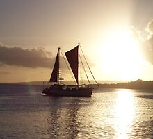 Port Vila Sunset by SCPhotos