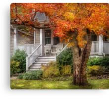 Autumn Exposure Canvas Print
