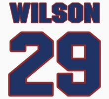 National football player Marcus Wilson jersey 29 by imsport