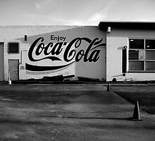 Coca Cola Sign on old Building by mitchrichie