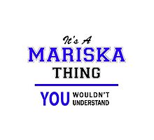 It's a MARISKA thing, you wouldn't understand !! by thestarmaker