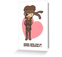 Big Boss Valentine Greeting Card