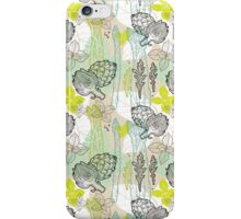 Spring pattern iPhone Case/Skin