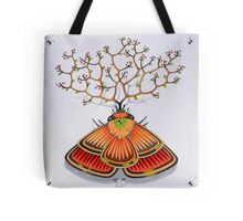 tree - moth Tote Bag