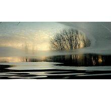Twilight Chill Photographic Print