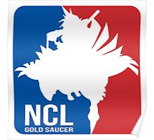 Gold Saucer's NCL!! - National Chocobo League Poster