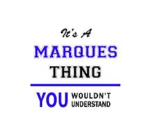 It's a MARQUES thing, you wouldn't understand !! by thestarmaker