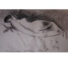 class no.3 nude drawing Photographic Print
