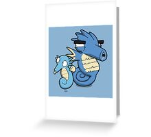 Number 116 and 117 Greeting Card