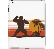 King of the Monsters - Giant Gorilla iPad Case/Skin