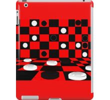 3D Checkers iPad Case/Skin