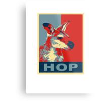HOP - Yes We Kan-garoo Metal Print