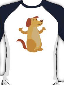 Little funny cartoon dog T-Shirt