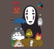 Ghibli mix Kids Clothes