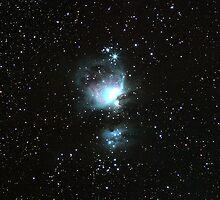 The Great Orion Nebula by John Arkleton