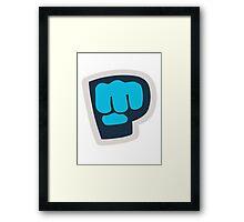 Bro Fist! Framed Print